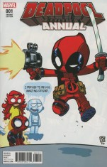 Deadpool Vol 5 Annual #1 Variant Skottie Young Baby