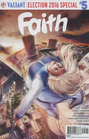 Faith (Valiant Entertainment) Vol 2 #5 Variant Meghan Hetrick