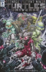 Teenage Mutant Ninja Turtles Universe #3 Regular Freddie Williams
