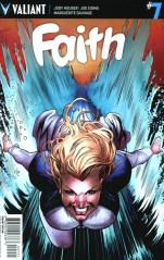 Faith (Valiant Entertainment) Vol 2 #7 Incentive Geoff Shaw Variant