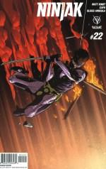 Ninjak Vol 3 #22 Incentive Clayton Henry Variant
