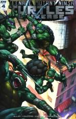 Teenage Mutant Ninja Turtles Universe #4 Incentive Agustin Graham Nakamura Variant