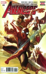 Avengers Vol 6 #4 Regular Alex Ross