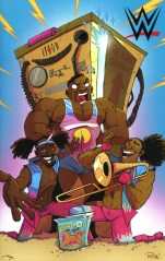 WWE #1 Incentive Rob Guillory The New Day Virgin Variant