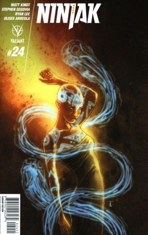 Ninjak Vol 3 #24 Incentive Ben Templesmith Variant
