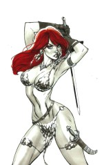 Red Sonja Vol 7 #2 Incentive J Scott Campbell Virgin