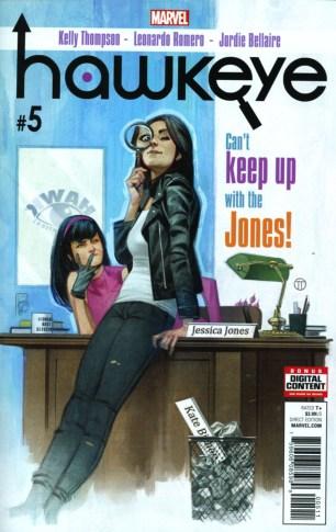 Hawkeye Vol 5 #5 Leonardo Romero