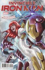 Invincible Iron Man Vol 3 #8 Variant Marco Checchetto Mary Jane