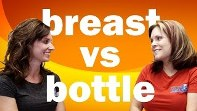 Infant Feeding skills - Breast vs Bottle