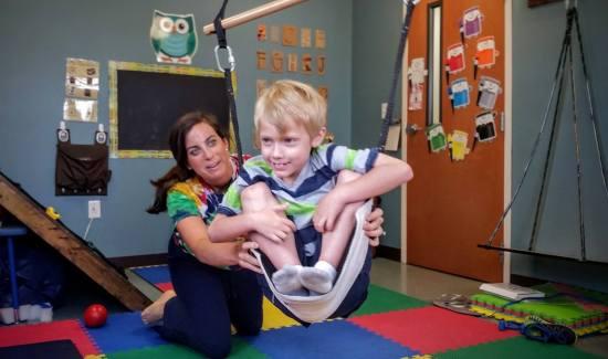 OT Occupational Therapy sensory swing