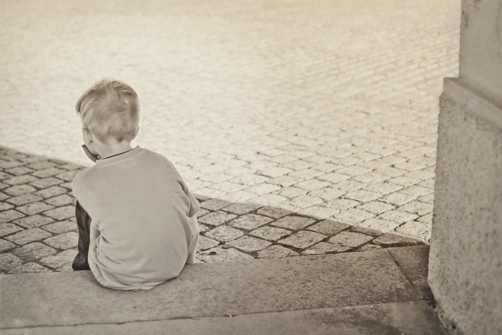 childhood depression outside