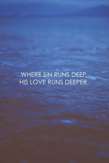 sin runs deep