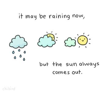 sun always comes out