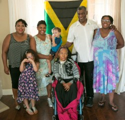 Chantoll Williams and Her Family