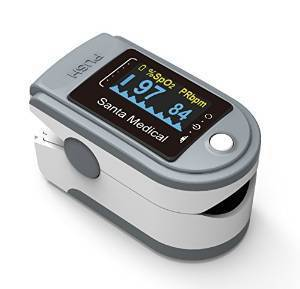 Santamedical Generation 2 SM-165 Fingertip Pulse Oximeter