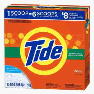 Tide Ultra Mountain Spring Scent Powder Laundry Detergent Review