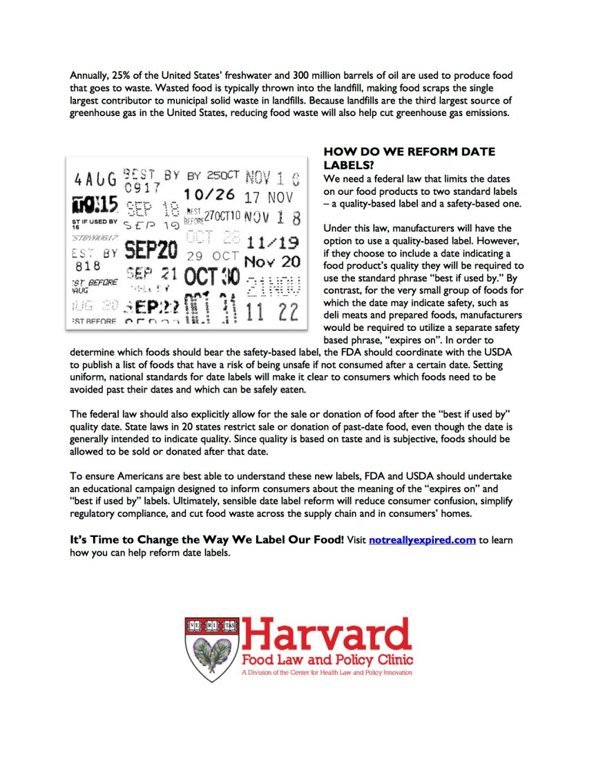 Not Really Expired Fact Sheet2