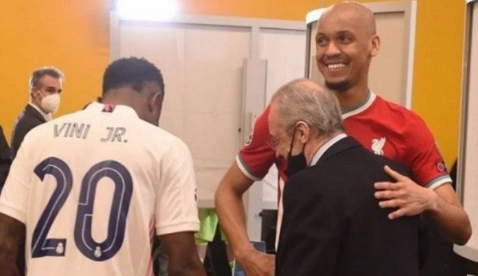 What Florentino Perez said to Fabinho after win over Liverpool