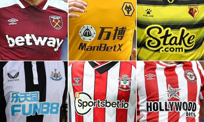 Betting sponsors to face new bans in the UK by 2023