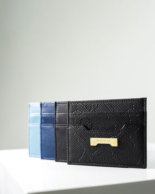 card holder collection by Jenah St. in ecofriendly vegan leather affordable luxury