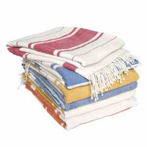 Handmade cotton towel collection from Ethiopia