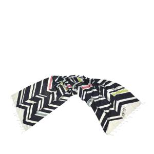 ABURY Striped Silk Scarf Handmade from Peace Silk