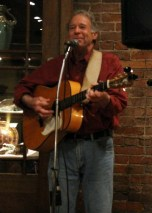 Larry at the Acoustic Cafe, Winona MN, December 2015