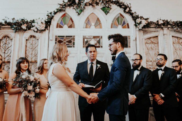 Blake & Clayton's Wedding Featured On Junebug Weddings