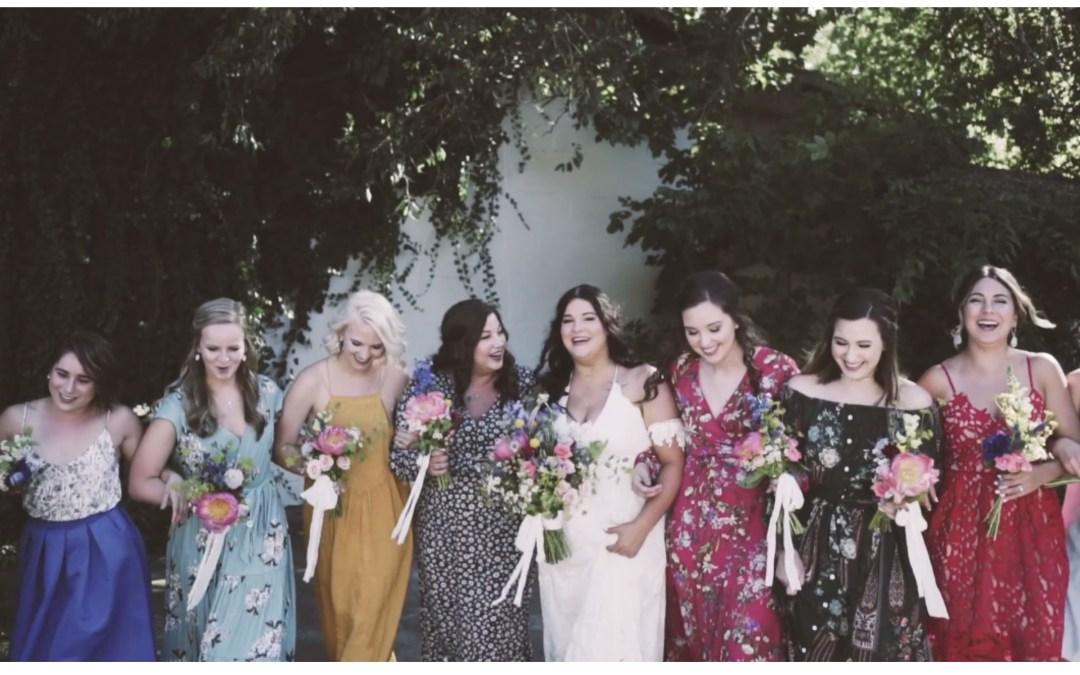 Luke & Chaney's Boho Wedding