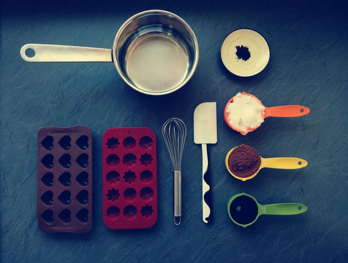 Schokolade aus Kokosöl – zuckerfrei & vegan