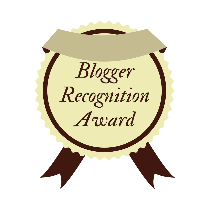 blogger recognition award - the ray journey
