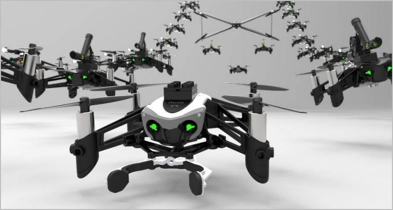 New Parrot Mini Drones - Swing and Mambo.