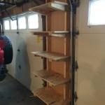 Cantilevered Plywood Garage Shelves Craig Davis