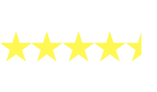 4.5 Star Rating