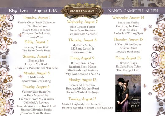 Blog Tour The Lady in the Coppergate Tower