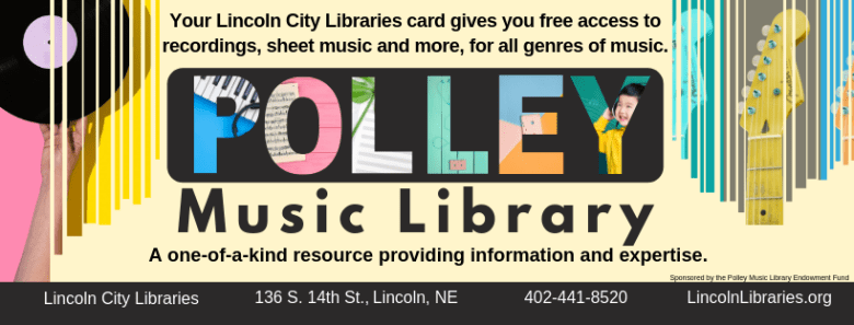Polley Music Library FB header