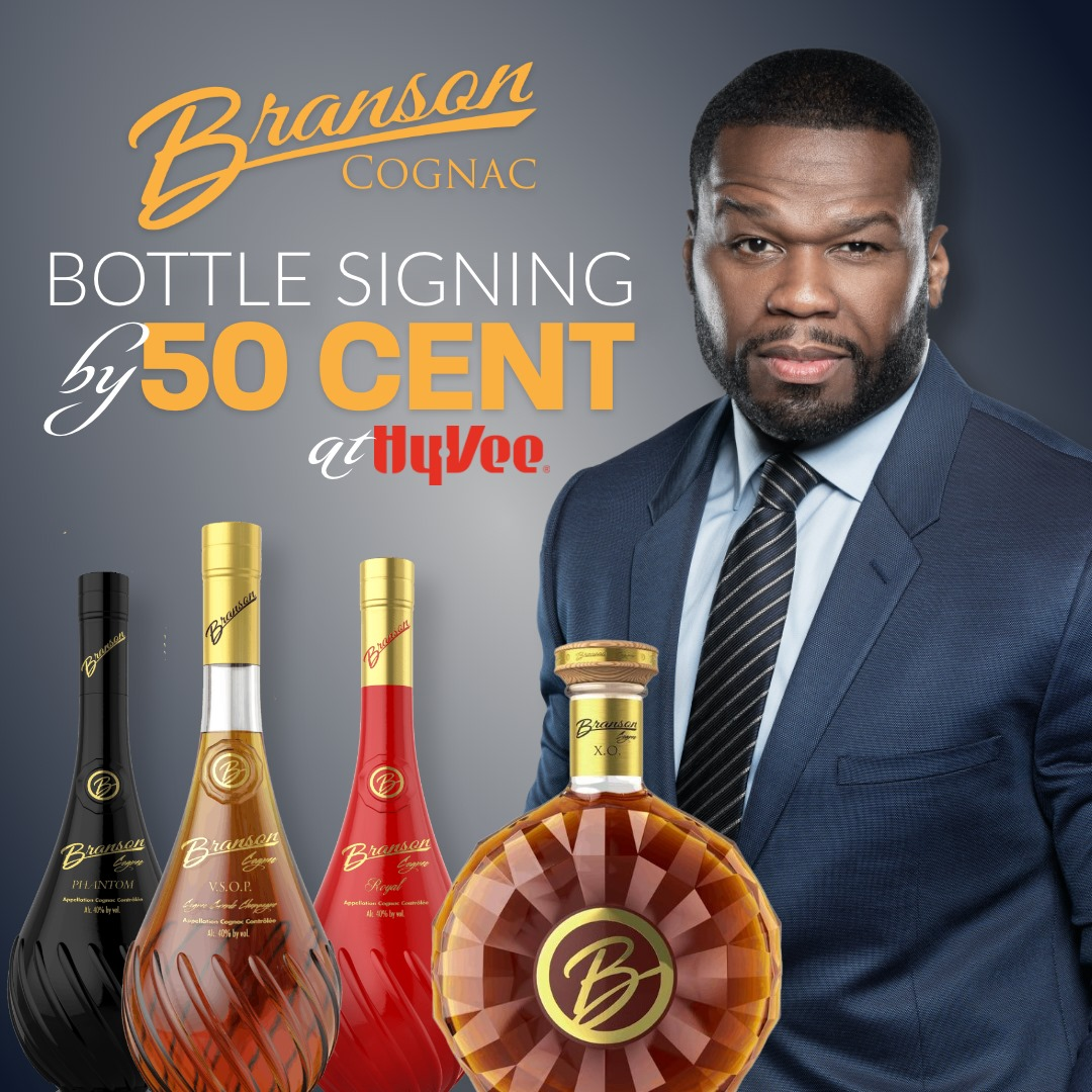 50 Cent at HyVee