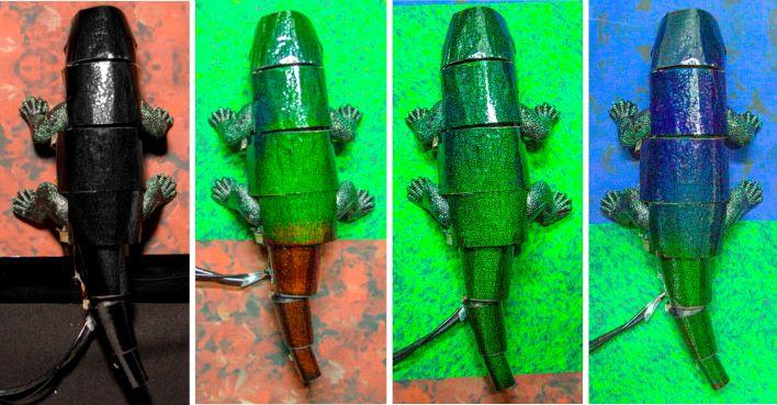 Chameleon robot South Korea  news – Scientist comes up with intelligent biomimetic chameleon skin
