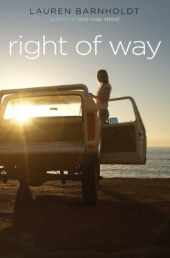 Right of Way by Lauren Barnholdt