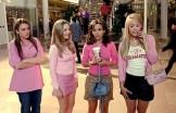 Mean Girls mall scene