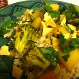 Isa Does It Broccoli Tofu Curry