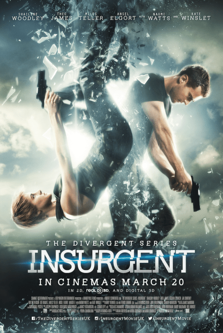 Image result for insurgent and allegiant movies