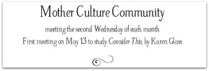 Mother Culture Community | thereadingmother.net