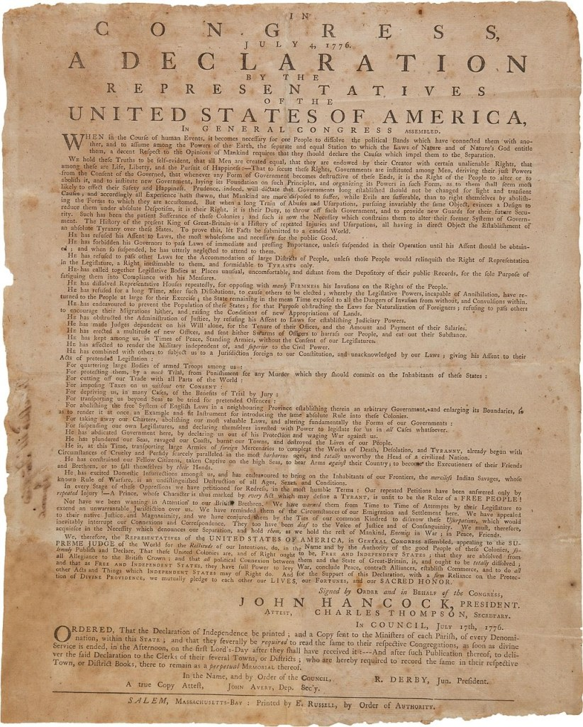 Russell_broadside_of_Declaration_of_Independence,_1776