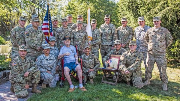 The Reading Post | 99-Year-Old Army Corporal Receives His ...