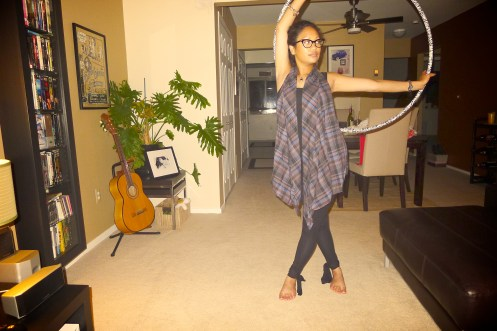 Asian Girl, Hooping, Hula Hoop