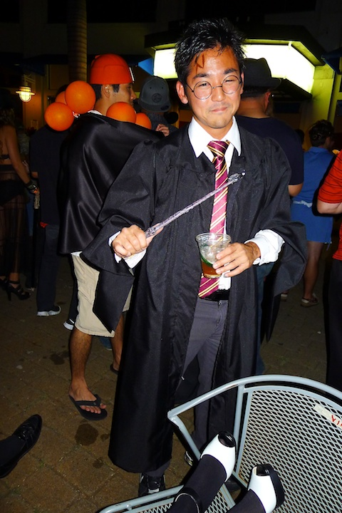 thereafterish, Aloha Tower Halloween Party, Harry Potter Costume