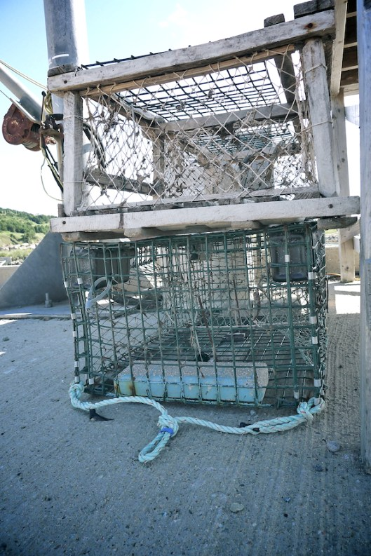 Cape Breton, Mabou, Mabou Harbor, Old lobster cages
