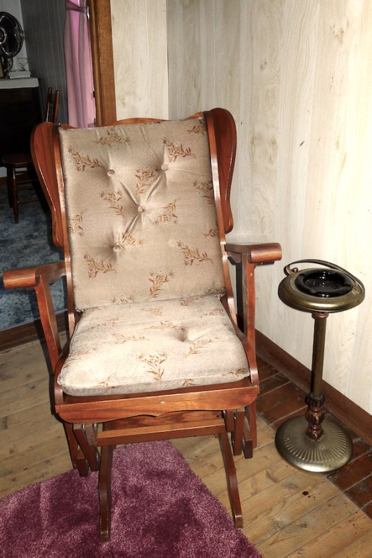 Cape Breton, Judique, Old Farm, Antique Rocking Chair