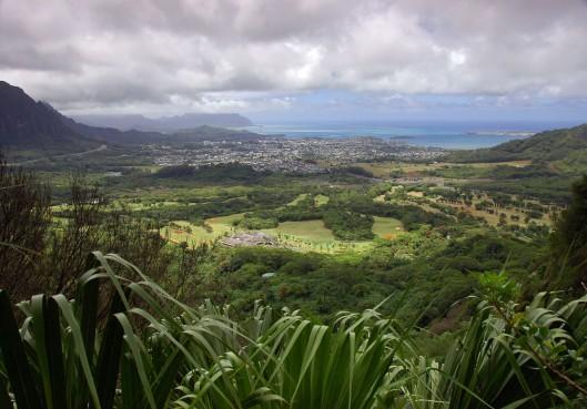 View of Kaneohe, Koolau Range, Kaneohe View